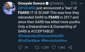 endsars EndSARS Gains Unbelievable Momentum As Nigerian Youths Prepare To Faceoff With Government IMG 20201005 123926 892 300x182 endsars EndSARS Gains Unbelievable Momentum As Nigerian Youths Prepare To Faceoff With Government IMG 20201005 123926 892
