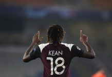 Moise Kean continues scoring streak in Turkey