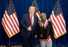 Lil Wayne meets Trump, boost his re-election bid