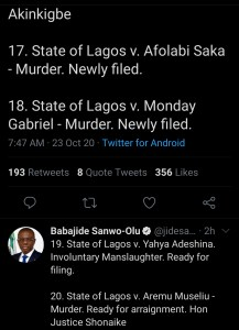 good news for #endsars protesters as sanwo-olu releases identity of police under prosecution - Screenshot 20201023 104248 1 217x300 - Good news for #EndSARS protesters as Sanwo-Olu releases identity of police under prosecution good news for #endsars protesters as sanwo-olu releases identity of police under prosecution - Screenshot 20201023 104248 1 - Good news for #EndSARS protesters as Sanwo-Olu releases identity of police under prosecution