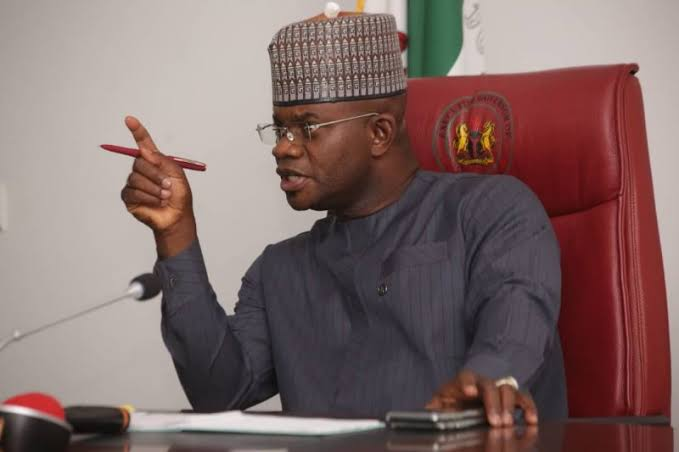 Yahaya Bello #endsars protests politically motivated – kogi governor - images 2020 10 27T103729 - #EndSARS Protests Politically Motivated – Kogi Governor