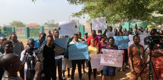 Protesters stormed national assembly to protest the killing of Ifeanyichukwu Elechi