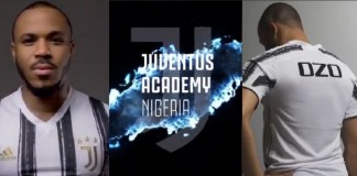 Ozo lands the biggest deal as Brand Manager of Juventus Football Academy in Nigeria