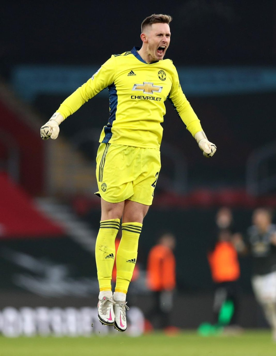 Dean Henderson for Man U against Southampton football - 20201129 174948 - Football: Dean Henderson speaks after comeback debut win for Manchester United