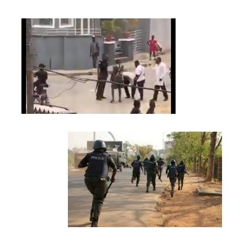 see how a policeman was caught beating a man in lagos state (video) - BeautyPlus 20201113134021 save - See How A Policeman Was Caught Beating A Man In Lagos State (Video)