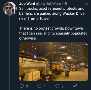 possible civil unrest imminent as police barricades trump tower - IMG 20201104 053146 484 300x295 - Possible civil unrest imminent as Police barricades Trump tower possible civil unrest imminent as police barricades trump tower - IMG 20201104 053146 484 - Possible civil unrest imminent as Police barricades Trump tower