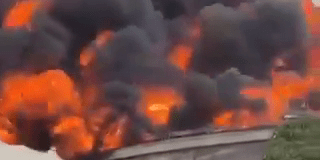 OVH Oando terminal In Apapa on Fire Resident panic: Breaking
