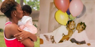 """You are everything I ask for and so much more""- Simi celebrates her daughter Adejare as she turns 6 months"