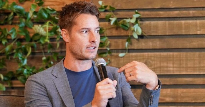 What are Justin Hartley's total assets? A glance at his fortune and extravagant Encino home in 'VIP IOU' appearance justin hartley's - 88 1 - What are Justin Hartley's total assets? A glance at his fortune and extravagant Encino home in 'VIP IOU' appearance