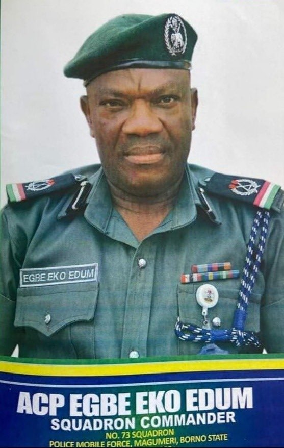 Reactions Trail Death of Police Squadron Commander, ACP Egbe Eko Edum [object object] - EoPPSi7XUAkHNeD - Reactions Trail Death of Police Squadron Commander, ACP Egbe Eko Edum