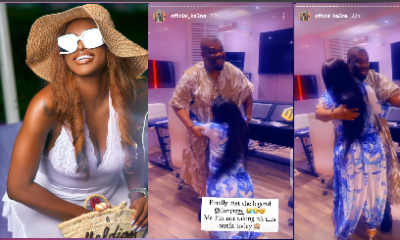 Moment BBNaija Ka3na knelt down to greet Don Jazzy as they met for the first time (Video) moment bbnaija ka3na knelt down to greet don jazzy as they met for the first time (video) - Screenshot 20201214 111952 - Moment BBNaija Ka3na knelt down to greet Don Jazzy as they met for the first time (Video)