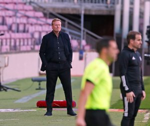Ronald Koeman Barcelona Manager football - 20210109 170003 300x252 - Football: Pirlo, Zidane, Other retired footballers excelling as a manager in their former clubs