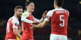 Ozil, Sokratis inches closer to Arsenal exit