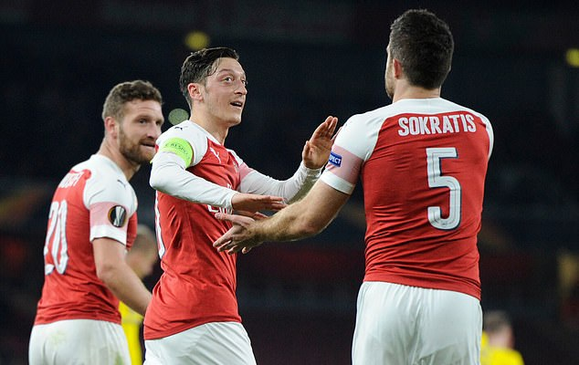 Ozil, Sokratis inches closer to Arsenal exit transfer: mesut ozil, sokratis inches closer to arsenal exit - 20210116 123547 - Transfer: Mesut Ozil, Sokratis inches closer to Arsenal exit