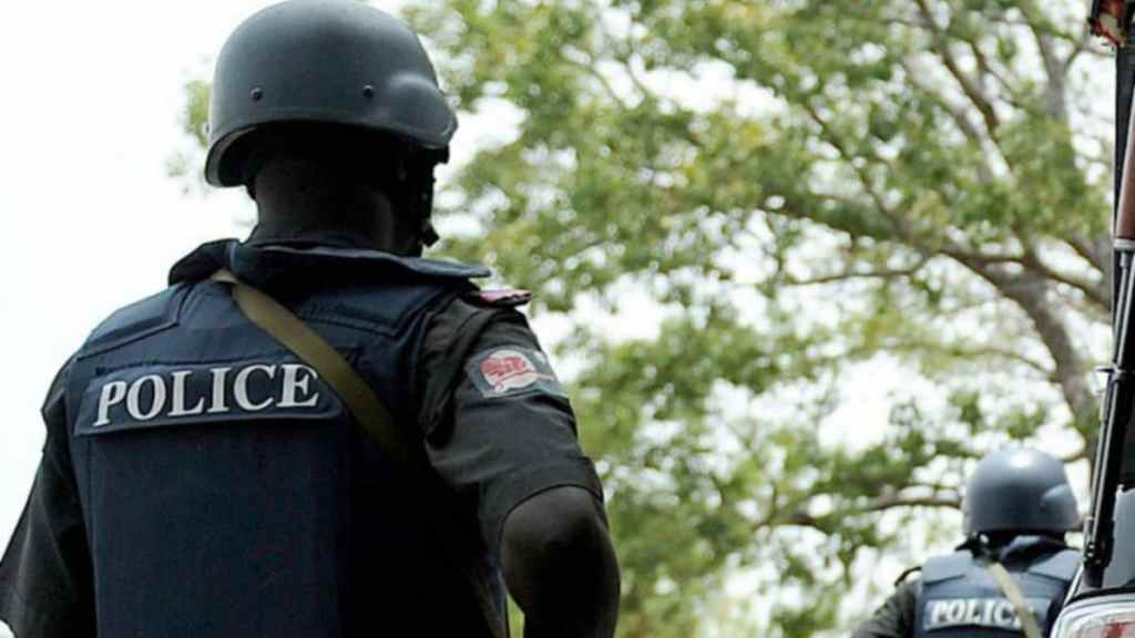 Police arrest another of Francis Ogunejunelo's thugs as he and two others are on the run insecurity - 20210123 120208 - Insecurity: Fmr Guber Aspirant, Ogunejunelo, Two others on the run as Police arrest another of his thugs
