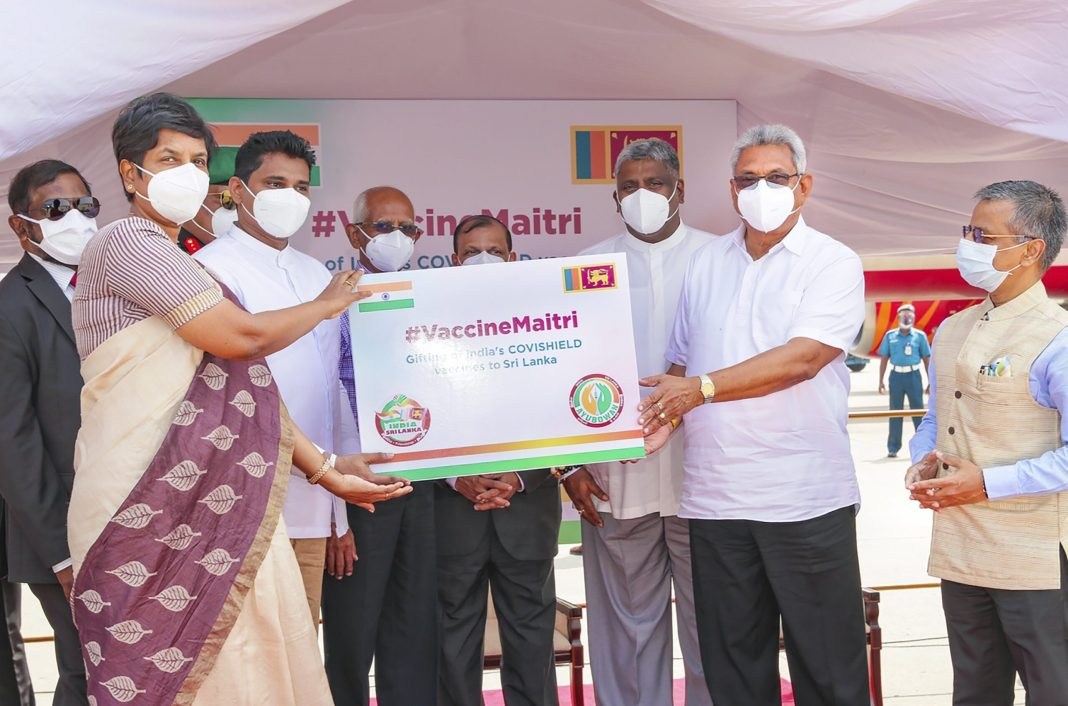 - 3000 scaled - Sri Lanka vaccinates 1st health workers