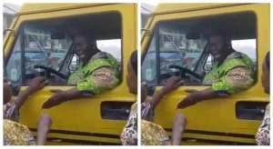 Elderly woman old woman - Elderly woman 1 300x164 - Old Woman Hijacks Bus from Commercial Driver in Lagos (Video)