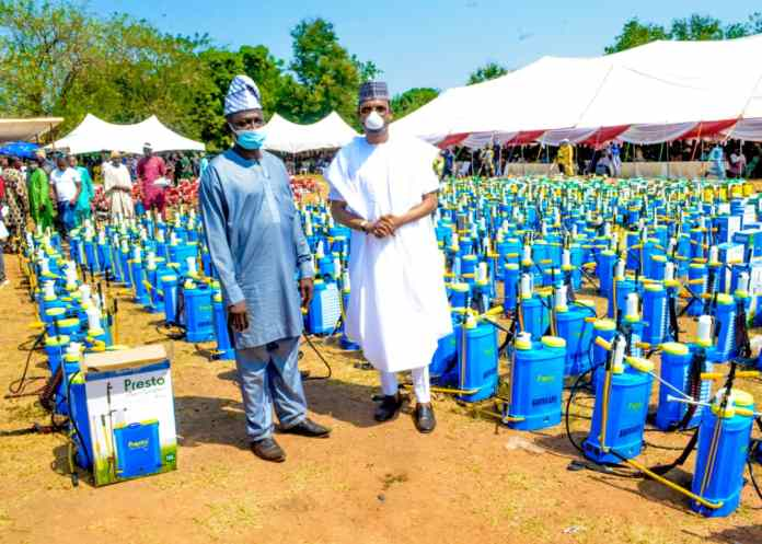 shina peller says his agricultural empowerment will attract great results - IMG 20210117 WA0052 - SHINA PELLER SAYS HIS AGRICULTURAL EMPOWERMENT WILL ATTRACT GREAT RESULTS