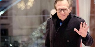 Larry King has been hospitalized with Covid-19