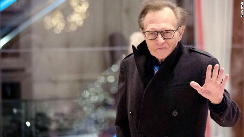 Larry King has been hospitalized with Covid-19 larry king - asd - Larry King has been hospitalized with Covid-19