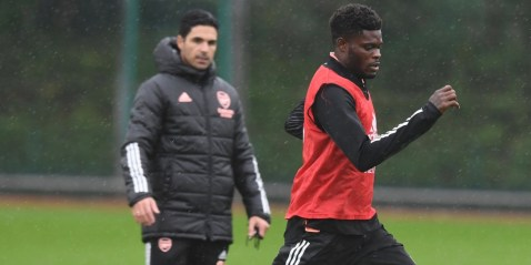 [object object] - partey arteta 300x150 - We missed Partey and his presence' – Arteta on Partey return after Newcastle win