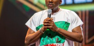 Bovi, Omah Lay pay tribute to victims of end sars protest during 14th headies award