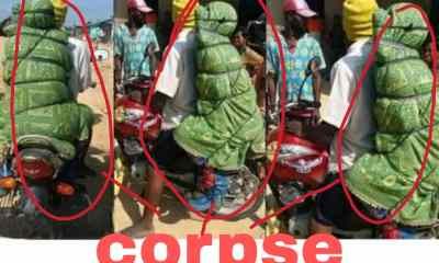 - IMG 20210210 WA0005 - Did You Know There Is A Country Where They Carry Their Corpse On The Bike? See The Country And Why?