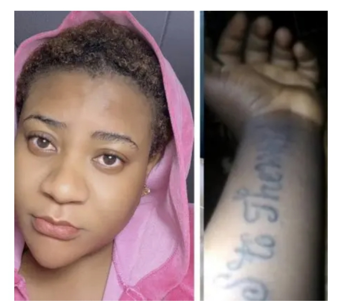 - Screenshot 20210225 103945 1 - Nkechi Blessing Sunday Finally Tenders Apologies To Follower Who Tattooed Her Name On Her Arm