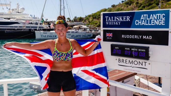 jasmine harrison - skynews harrison atlantic 5279540 - Meet Jasmine Harrison Youngest Woman to Complete a Solo Row Across the Atlantic Ocean