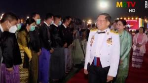 myanmar coup - 04DDD361 DB84 4335 8D70 8C671AAFF0C5 300x169 - Myanmar Coup: While His Troops Are Killing Innocent Citizens, Junta Celebrates Lavishly