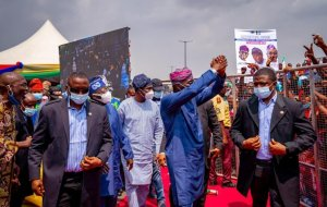 Tinubu, Babajide Sanwoolu breaks COVID-19 rules as they commission agege pen cinema bridge  covid-19 - 20210306 072144 300x190 - COVID-19: Femi Kuti knocks Tinubu, Sanwoolu for breaking Social Distance rules covid-19 - 20210306 072144 - COVID-19: Femi Kuti knocks Tinubu, Sanwoolu for breaking Social Distance rules