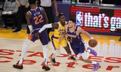 lakers celebrate playoff homecoming in 109-95 win over suns - 1000 2 - Lakers celebrate playoff homecoming in 109-95 win over Suns