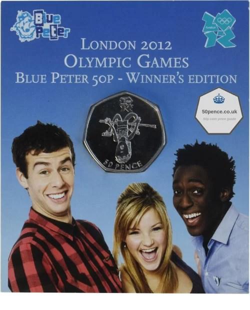 Blue Peter 50p BU