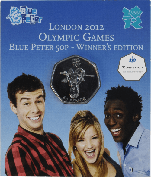 Blue Peter 50p Winner's Edition rare coin