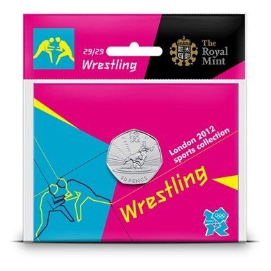 2011 Wrestling 50p