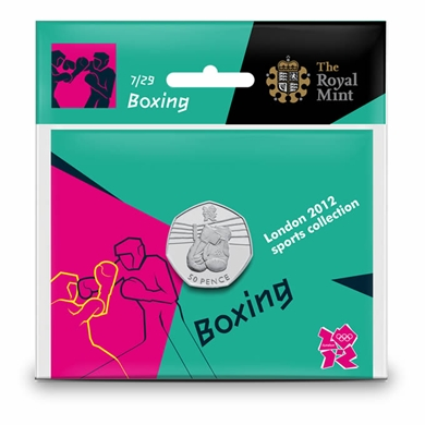 Boxing 50p coin pack