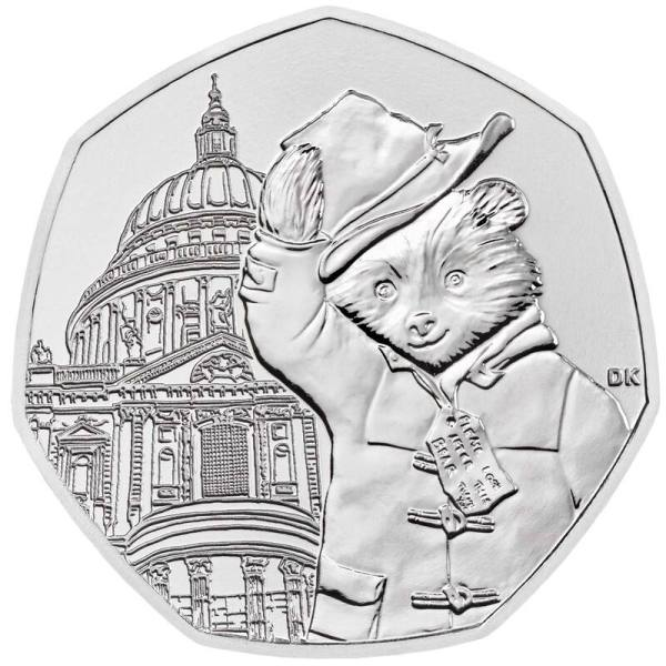Paddington at St. Paul's 50p