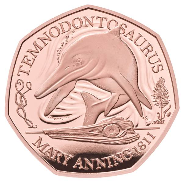 temnodontosaurus gold coin