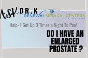enlarged prostate symptoms and treatment