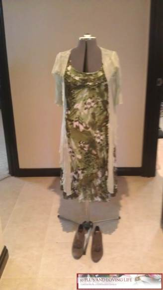 Green & brown dress with lime green overlay-Optimized