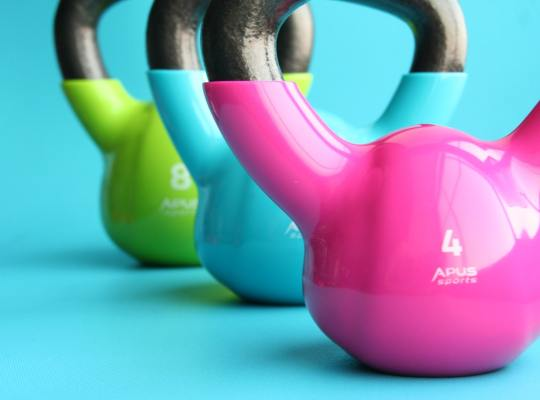 weight-training kettle bells
