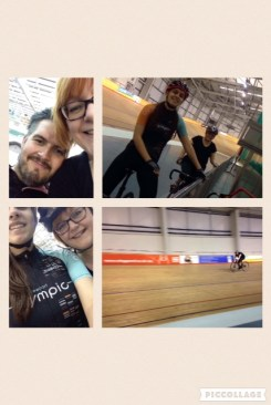 Apr 2nd - cycling at Newport velodrome