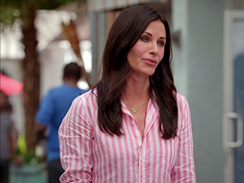 Courteney Cox got her big break as Monica