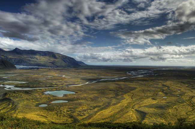 Skaftafell National Park Thrones