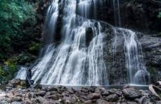 It's easy to see why Bridal Veil Falls is a must-see attraction.