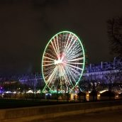 Ferris Wheel at Tuileries Garden