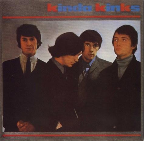 1965 - Kinda Kinks -  front