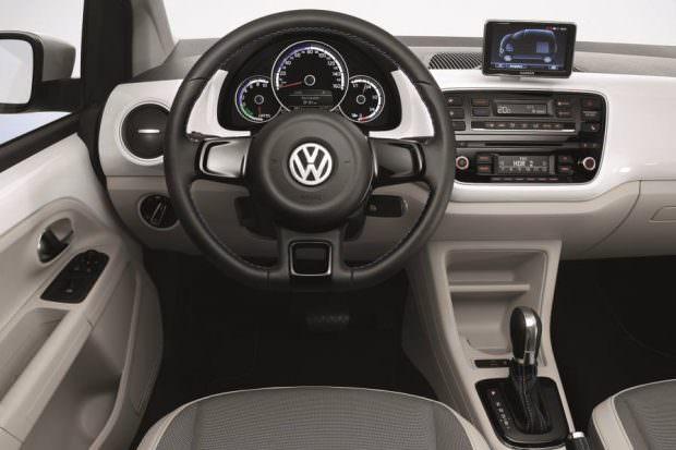 Volkswagen e-up! interior