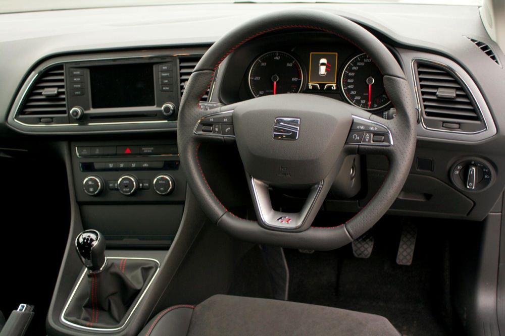 2013 Seat Leon FR interior - 50 to 70