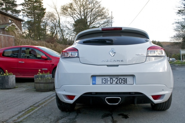 Renault Megane RS back